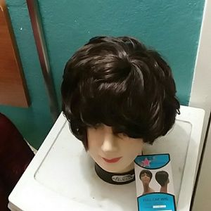 Stars Full Wig Cap Synthetic